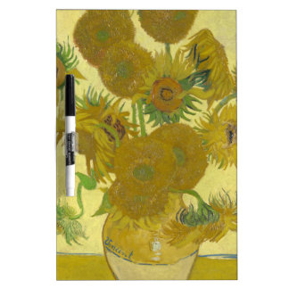Sunflowers By Vincent Van Gogh Dry-Erase Whiteboards