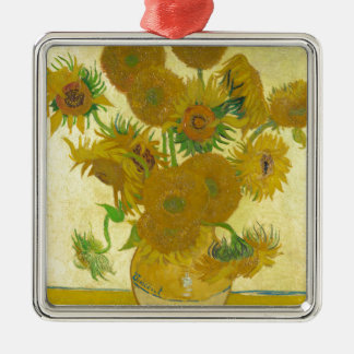 Sunflowers by Vincent van Gogh Metal Ornament