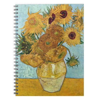 Sunflowers by Vincent Van Gogh Notebook