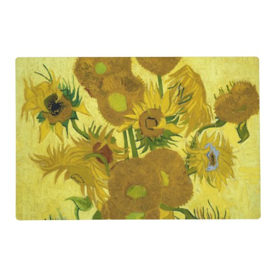 Sunflowers By Vincent Van Gogh Placemat