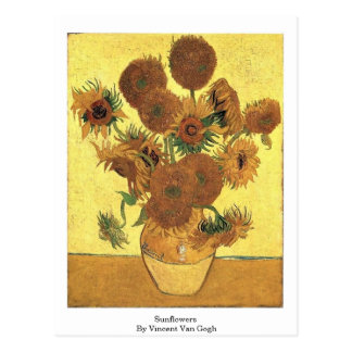 Sunflowers By Vincent Van Gogh Post Card