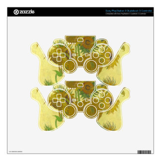 Sunflowers by Vincent van Gogh PS3 Controller Skins