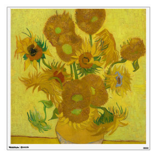 Sunflowers by Vincent van Gogh Wall Graphics