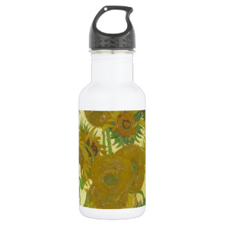 Sunflowers By Vincent Van Gogh Water Bottle