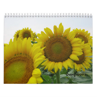 Sunflowers Calendar