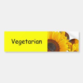 Sunflowers Car Bumper Sticker