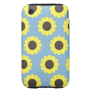 Sunflowers Tough iPhone 3 Cases