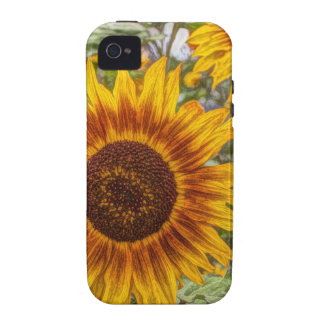 sunflowers vibe iPhone 4 case