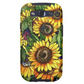 Sunflowers Samsung Galaxy S3 Covers