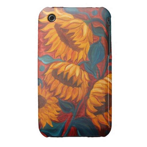 Sunflowers Case-Mate iPhone 3 Case