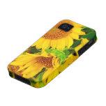 Sunflowers City Market KC Farmer's Market Case-Mate iPhone 4 Case