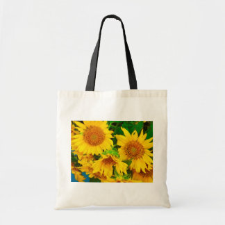 Sunflowers City Market KC Farmer's Market Tote Bag