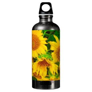 Sunflowers City Market KC Farmer's Market Water Bottle