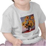 Sunflowers, Claude Monet Shirt