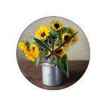 Sunflowers Clocks
