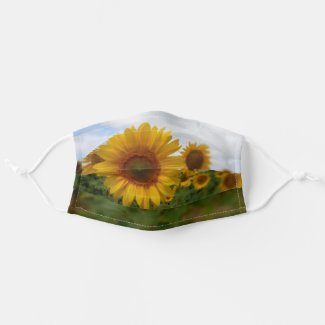 Sunflowers Cloth Face Mask