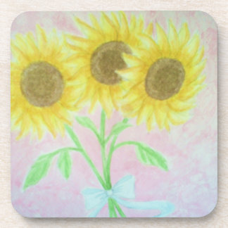 Sunflowers Coasters
