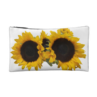 Sunflowers Cosmetic Bag