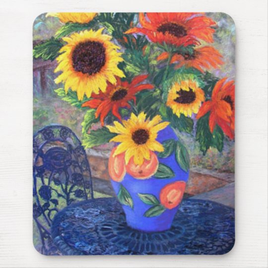 Sunflowers - Customized Mouse Pad