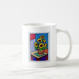 Sunflowers D 12 by Piliero Coffee Mug