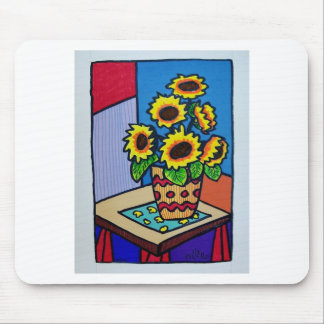 Sunflowers D 12 by Piliero Mouse Pad