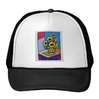 Sunflowers D 12 by Piliero Trucker Hat