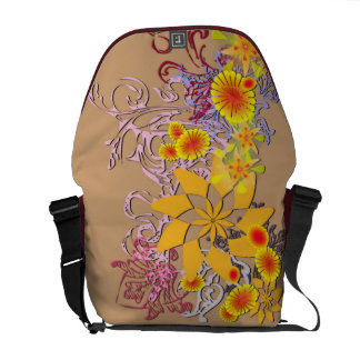 Sunflowers Deco Messenger Bag