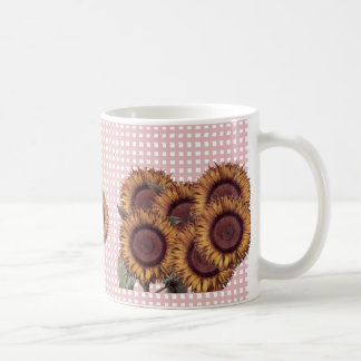 Sunflowers Design mug