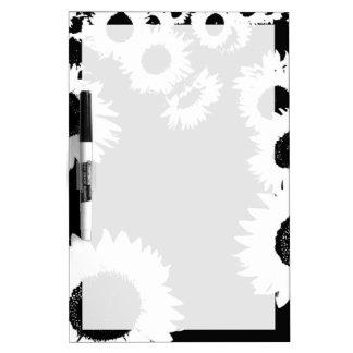 Sunflowers Dry Erase Whiteboards