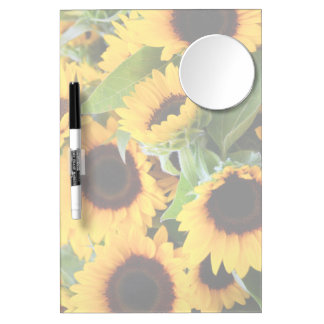 Sunflowers Dry-Erase Boards