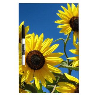Sunflowers Dry-Erase Whiteboard