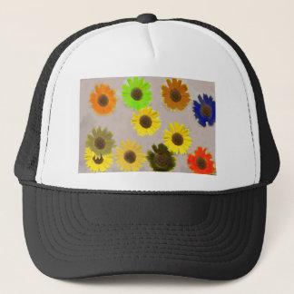 Sunflowers Edited In Photoshop Elements Trucker Hat