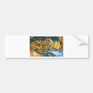 Sunflowers F. 376 ~ Van Gogh Car Bumper Sticker