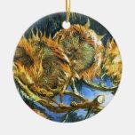 Sunflowers F. 376 ~ Van Gogh Ornament
