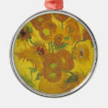 Sunflowers F. 458 ~ Van Gogh Christmas Ornament