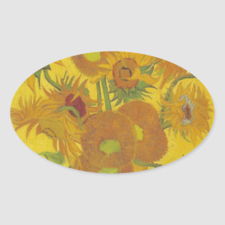 Sunflowers F. 458 ~ Van Gogh Stickers