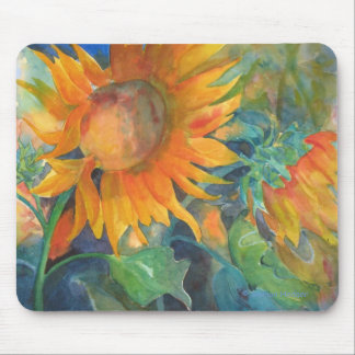 Sunflowers Floral Mouse Mat