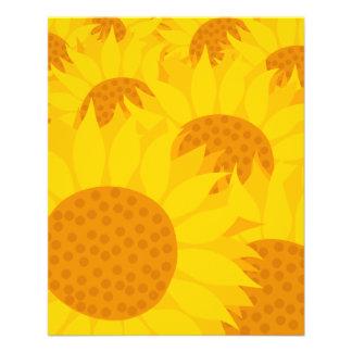Sunflowers Full Color Flyer
