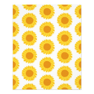 Sunflowers Flyer Design