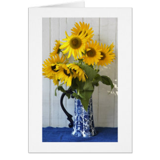 Sunflowers from my Garden Stationery Note Card