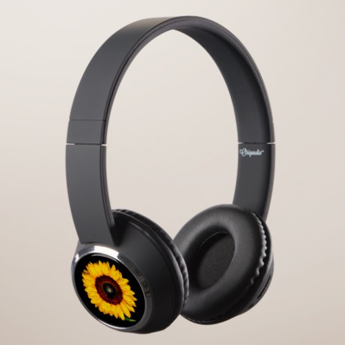 Sunflowers Headphones