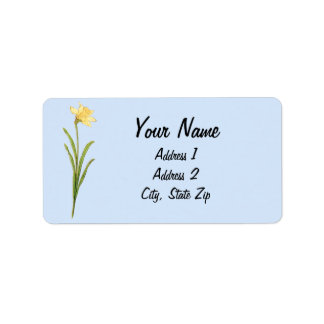 Sunflowers Illustration by Kate Greenaway Custom Address Labels