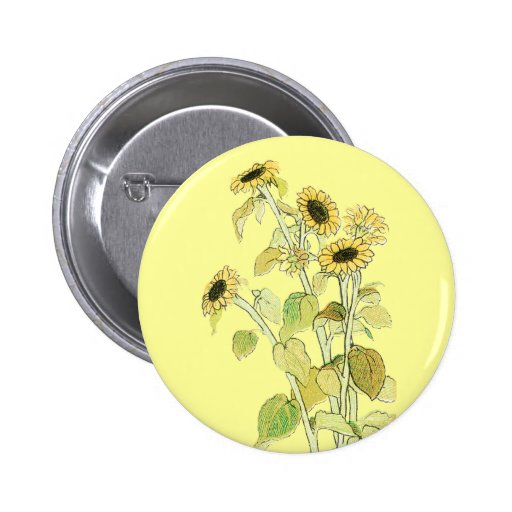 Sunflowers Illustration by Kate Greenaway Pin