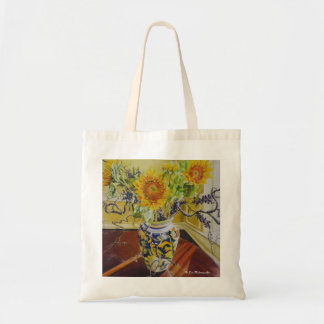 Sunflowers in an Italian Vase Tote Bag