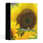 Sunflowers in Bloom Mini Binder