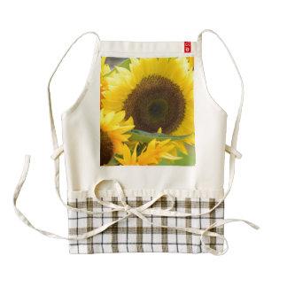 Sunflowers in Bloom Zazzle HEART Apron