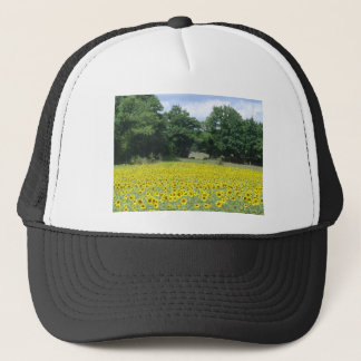 Sunflowers in Limousin Trucker Hat