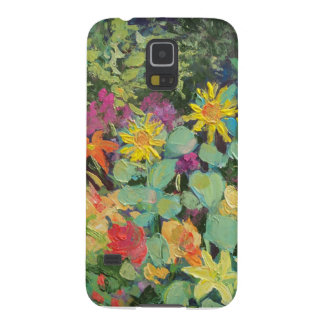 Sunflowers in the Daylilies by Sue Ann Jackson Galaxy S5 Case