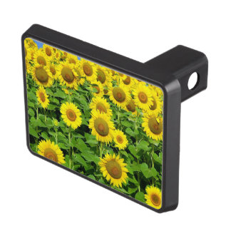 Sunflowers In The Field Hitch Covers