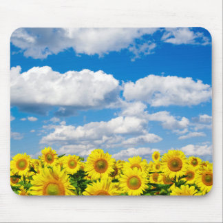 Sunflowers in the Sunshine Mouse Pad